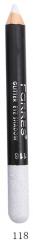 "MB014-118 Карандаш-глиттер для глаз и губ ""Glitter Eye Shadow"" (белый)"