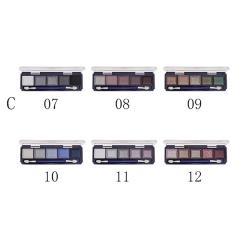 Farres 1109C Тени для век 5 цветные mix 6шт
