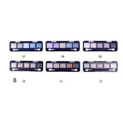 Farres 1109B Тени для век 5 цветные mix 6шт