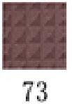 Farres Тени д/век 1001A №73 (перл. с глит.фиолет. с красным)